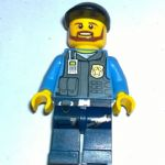 Lego  City 2013 Undercover elite police officer 1  minifigure vgc
